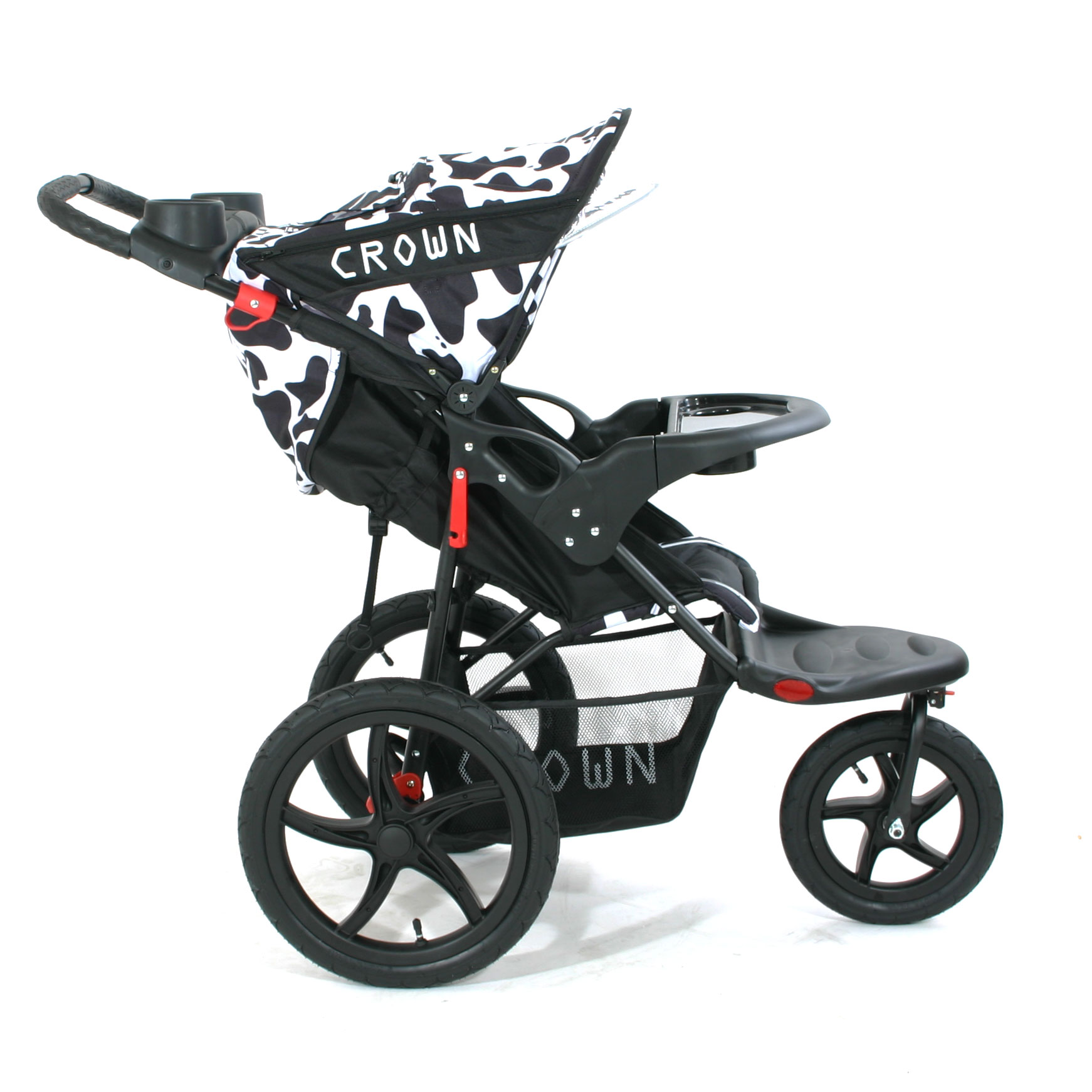crown st930 16 zoll kinderwagen jogger cow kinderwagen jogger. Black Bedroom Furniture Sets. Home Design Ideas