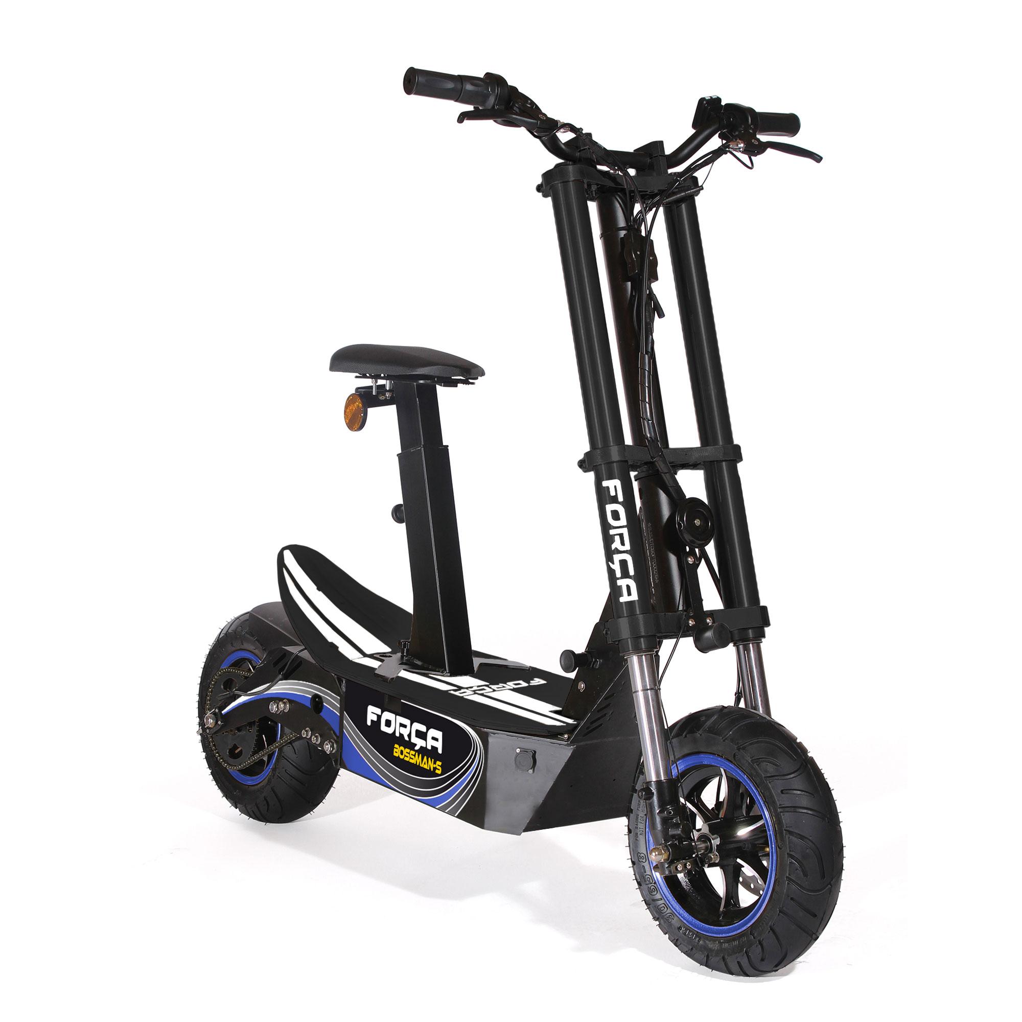 for a bossman s vgt 4 back 39 n 39 blue edition e scooter mit 48v 3000 watt bldc motor 18ah bleigel. Black Bedroom Furniture Sets. Home Design Ideas